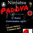 Ninjutsu Padova – Lezione mensile – Kachi – Camminando decisi
