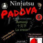 Ninjutsu Padova – Lezione mensile – Jumonji – La croce