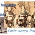 Ninjutsu Padova – Onna bugeisha & Kunoichi – She's gotta power
