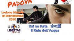 Ninjutsu Padova – Lezione mensile – Sui no Kata – Il Kata dell'acqua